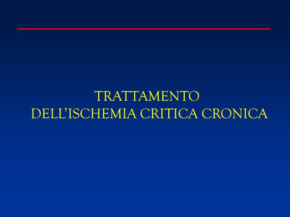 TRATTAMENTO DELLISCHEMIA CRITICA CRONICA