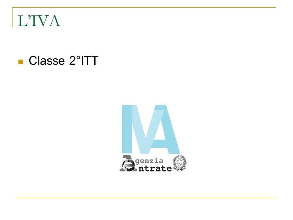 LIVA Classe 2°ITT
