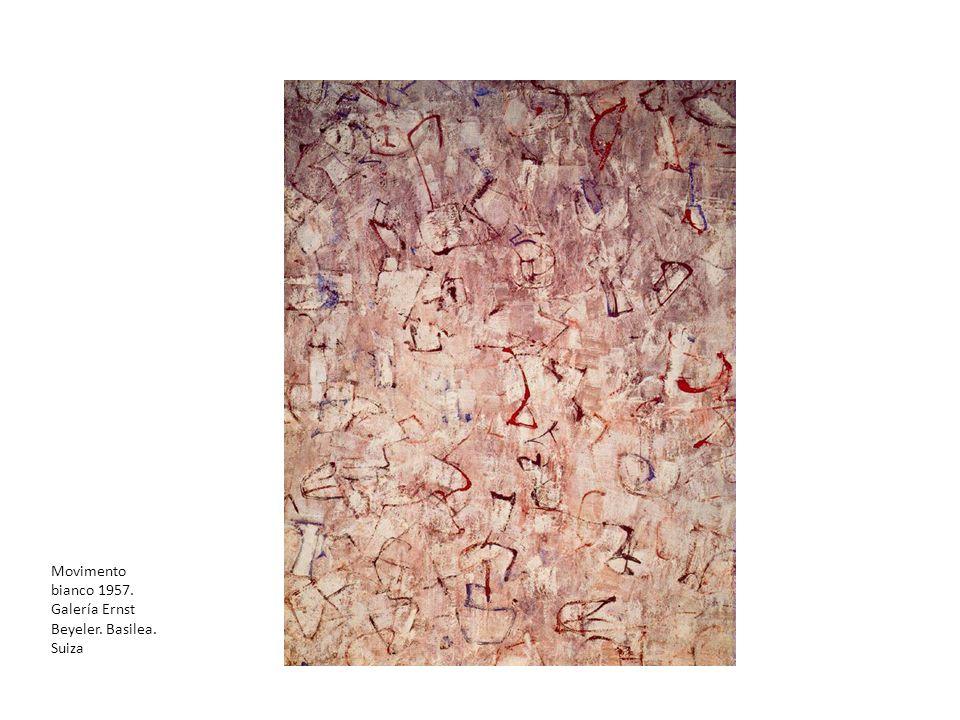 Movimento bianco 1957. Galería Ernst Beyeler. Basilea. Suiza