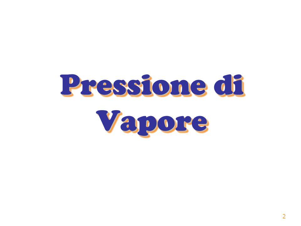 2 Pressione di Vapore