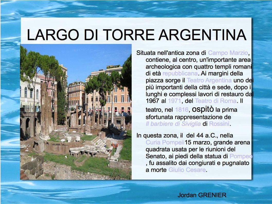 Piazza della Minerva Prende il nome da un antico tempio in onore di Minerva sulle cui rovine, secondo la tradizione, fu edificata nel secolo VIII la chiesa di Santa Maria sopra Minerva, dal 1566 basilica minore.