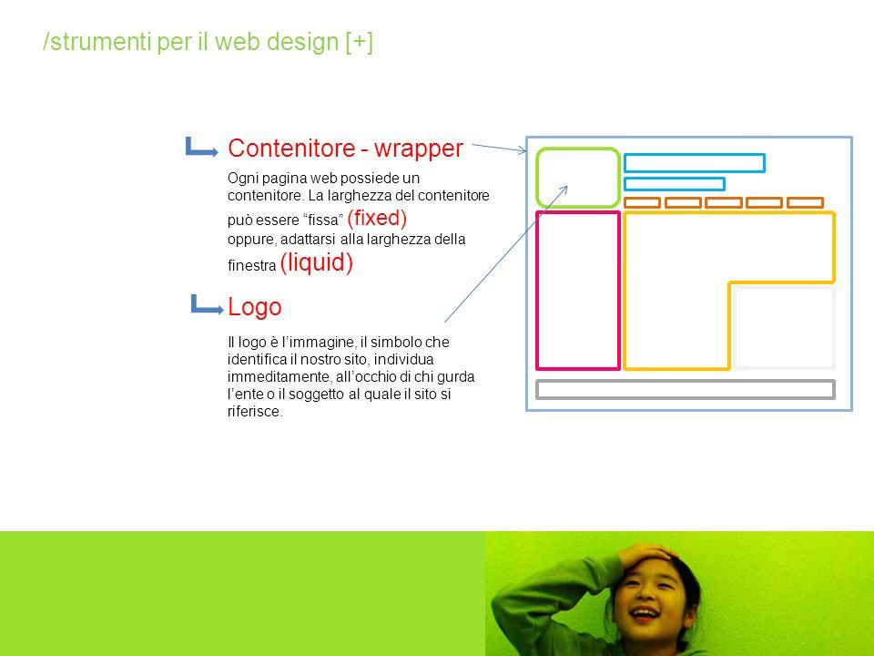 Ogni pagina web possiede un contenitore. La larghezza del contenitore può essere fissa (fixed) oppure, adattarsi alla larghezza della finestra (liquid