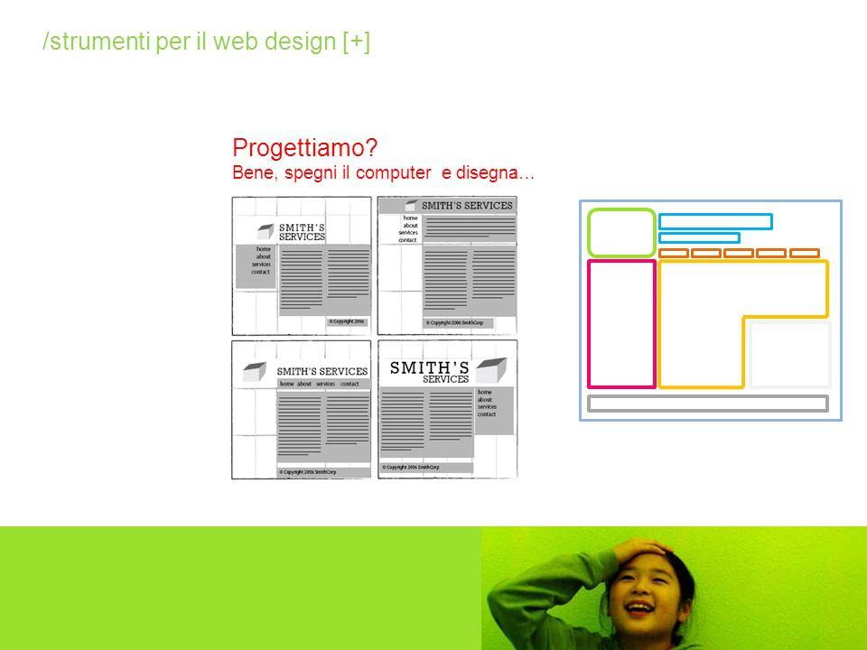 Progettiamo? Bene, spegni il computer e disegna… /strumenti per il web design [+]
