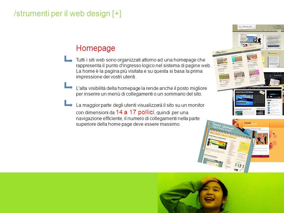 Tutti i siti web sono organizzati attorno ad una homepage che rappresenta il punto d'ingresso logico nel sistema di pagine web. La home è la pagina pi