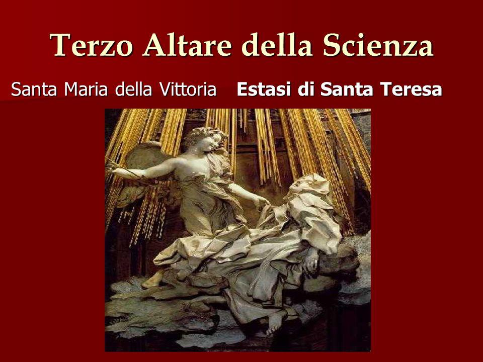 Terzo Altare della Scienza Santa Maria della Vittoria Estasi di Santa Teresa Santa Maria della Vittoria Estasi di Santa Teresa