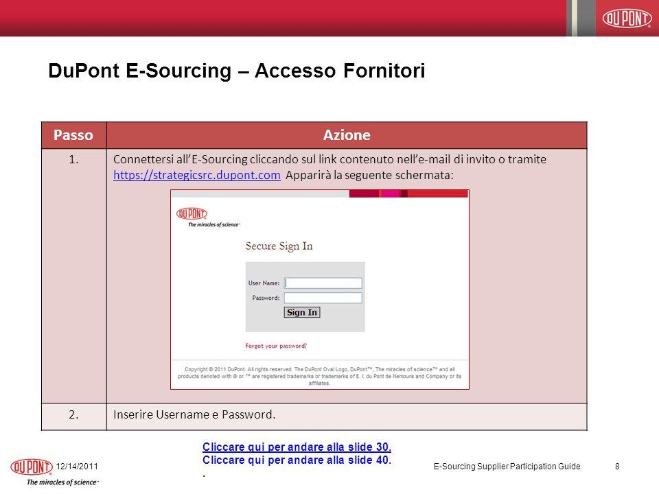 Tool Functionality - Overview for RFx (RFI, RFP, and RFQ) E-Sourcing ha strumento di funzionalità che facilita il processo di RFx.