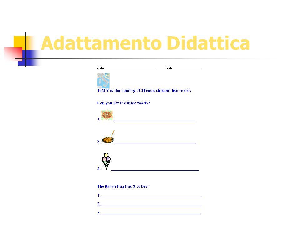 Adattamento Didattica
