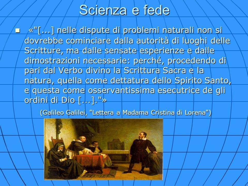 Scienza e fede «