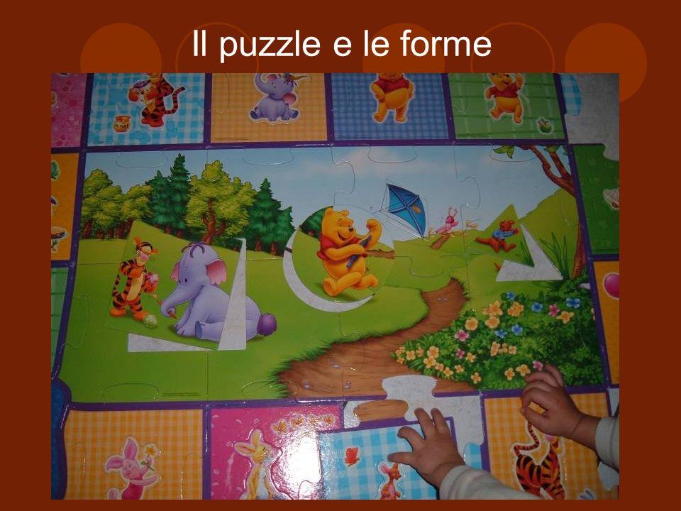 Il puzzle e le forme