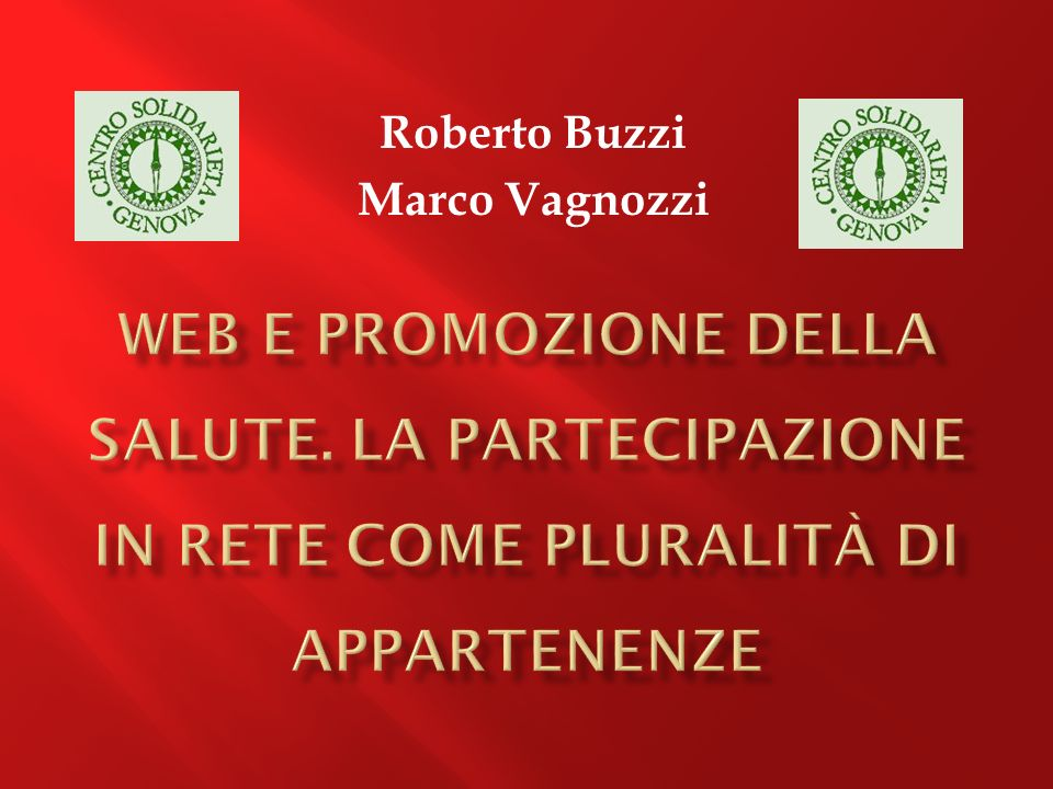Roberto Buzzi Marco Vagnozzi