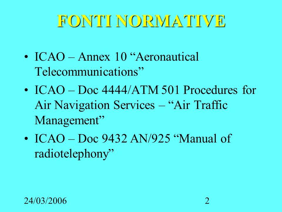 24/03/20063 TECNICHE DI TRASMISSIONE Prima di trasmettere una comunicazione essere sicuri di non interferire con altre comunicazioni in atto tra altre stazioni.