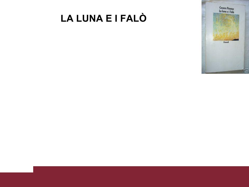 LA LUNA E I FALÒ Laboratorio di scrittura e cultura della comunicazione Prof. Mario Morcellini