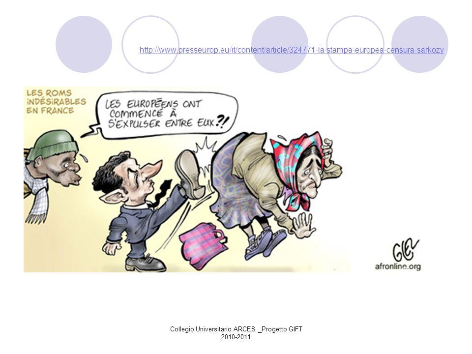 Collegio Universitario ARCES _Progetto GIFT 2010-2011 Cooperazione con il resto del mondo L Unione europea - attore mondiale in materia di aiuti allo sviluppo.