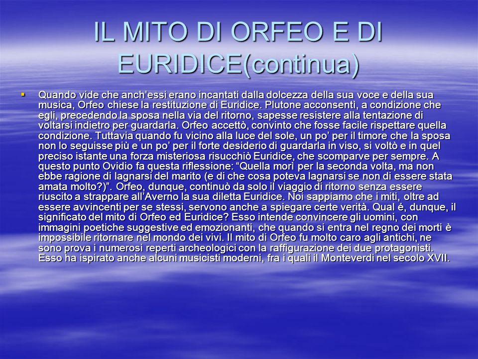 Testi:IL MITO DI ORFEO E DI EURIDICE IN VIRGILIO, IV GEORG.,vv.