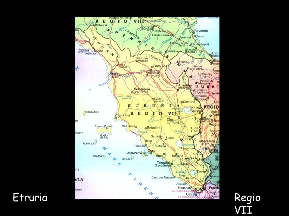 Maria Giulia PoggiEtruschi. Storia e civiltà16 EtruriaRegio VII