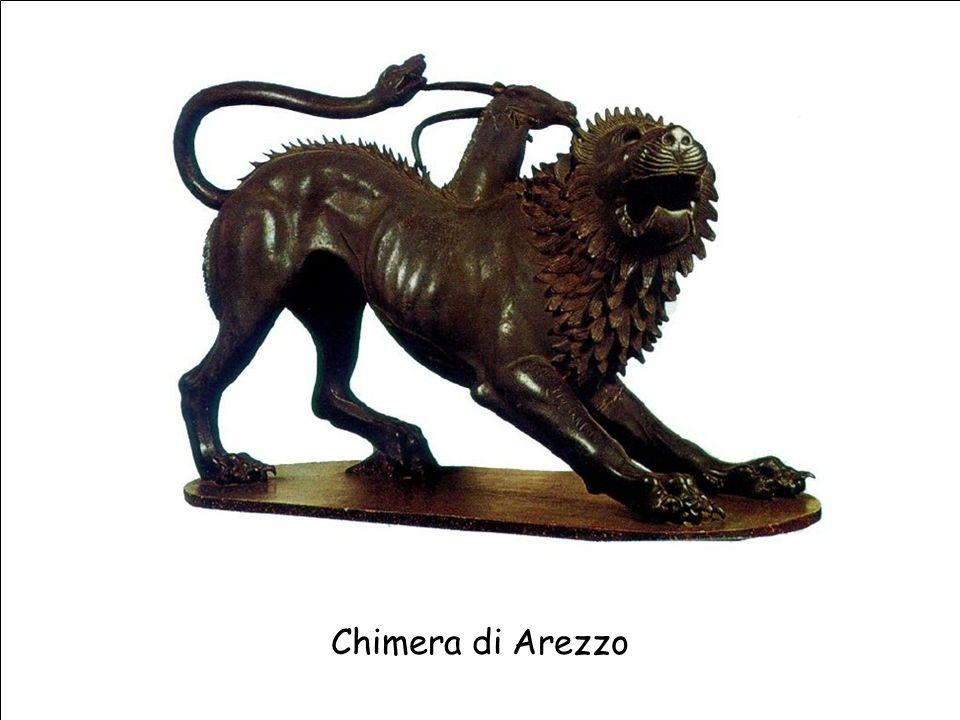 Maria Giulia PoggiEtruschi. Storia e civiltà34 Chimera di Arezzo