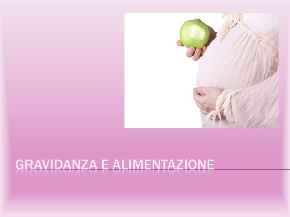 Durante la gravidanza è fondamentale seguire una dieta equilibrata.