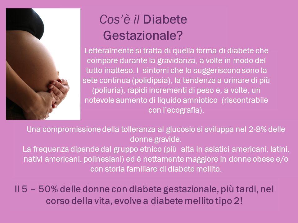 Cosè il Diabete Gestazionale? Letteralmente si tratta di quella forma di diabete che compare durante la gravidanza, a volte in modo del tutto inatteso