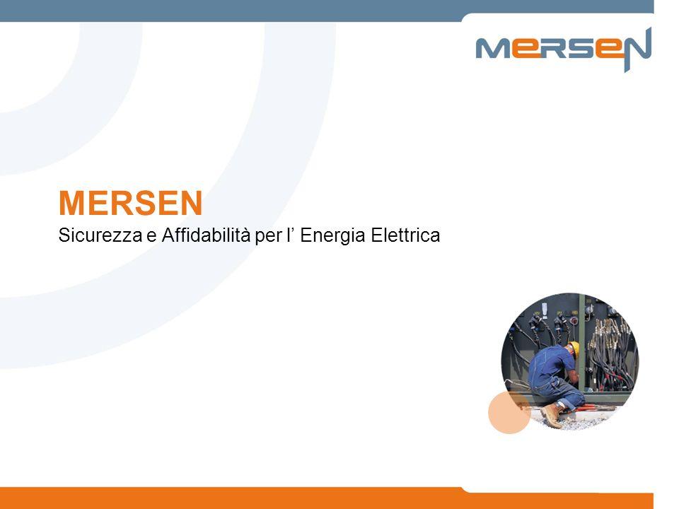 MERSEN Sicurezza e Affidabilità per l Energia Elettrica