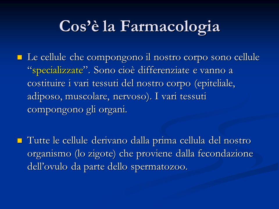 Le cellule che compongono il nostro corpo sono cellulespecializzate. Sono cioè differenziate e vanno a costituire i vari tessuti del nostro corpo (epi