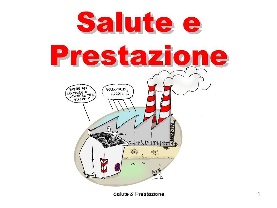 Salute & Prestazione1 Salute e Prestazione