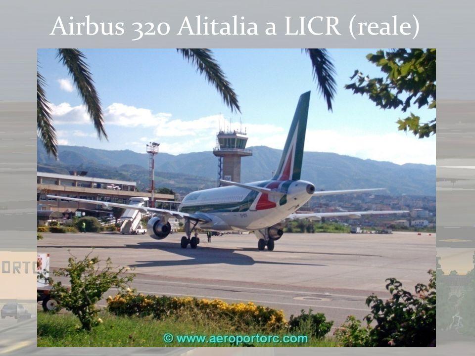 Airbus 320 Alitalia a LICR (virtuale)
