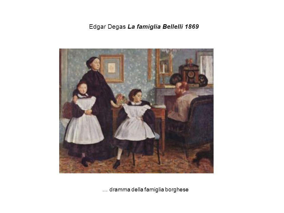 Edgar Degas La famiglia Bellelli 1869 … dramma della famiglia borghese