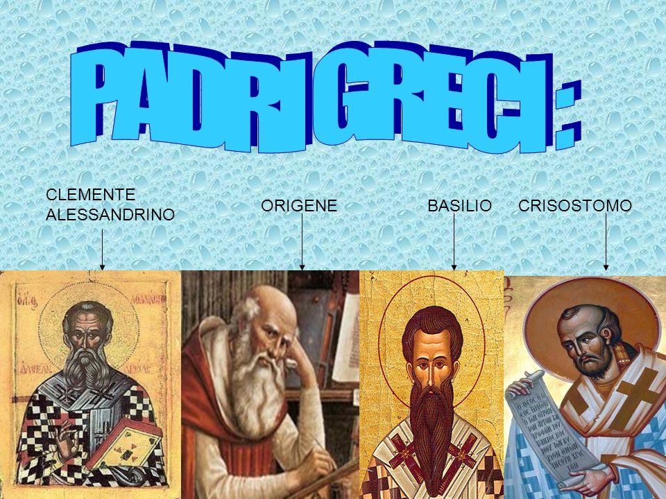 (145/150-211/217) Opera più importante: Paedagògus Il cristianesimo è portatore di una nuova paidéia in cui il sistema delle discipline ellenistiche è propedeutico alla religione