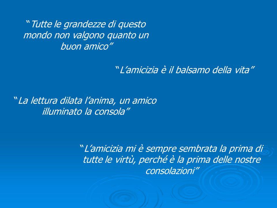 KANT Amor proprio e amore per lumanità Maggiore è lamore per gli altri, maggiore è lamicizia Lamicizia è unidea astratta, un modello a cui tendere 1724 - 1804 Questo sentimento così dolce di una possessione reciproca, che va sino a fondere due persone in una sola.