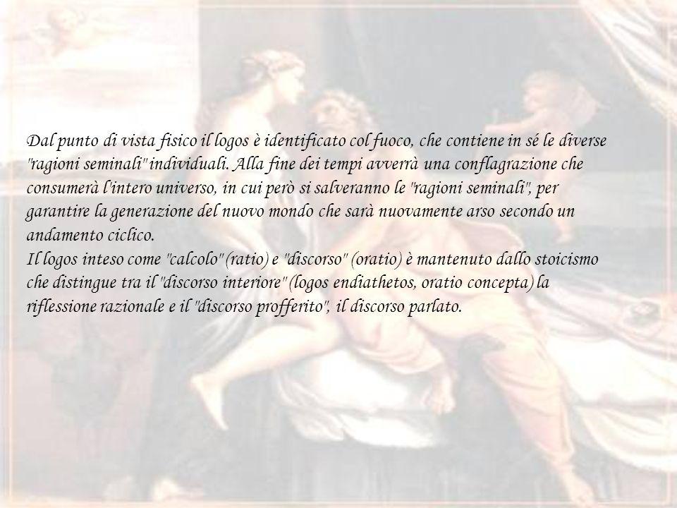 Durante lo Stoicismo… Una vera e propria