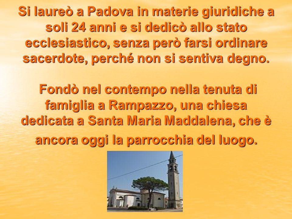 Trasferitosi a Roma nel 1506, divenne subito segretario particolare di papa Giulio II, ed ebbe lincarico di scrittore delle lettere pontificie, ufficio questo che gli diede lopportunità di conoscere e collaborare con tante persone importanti.