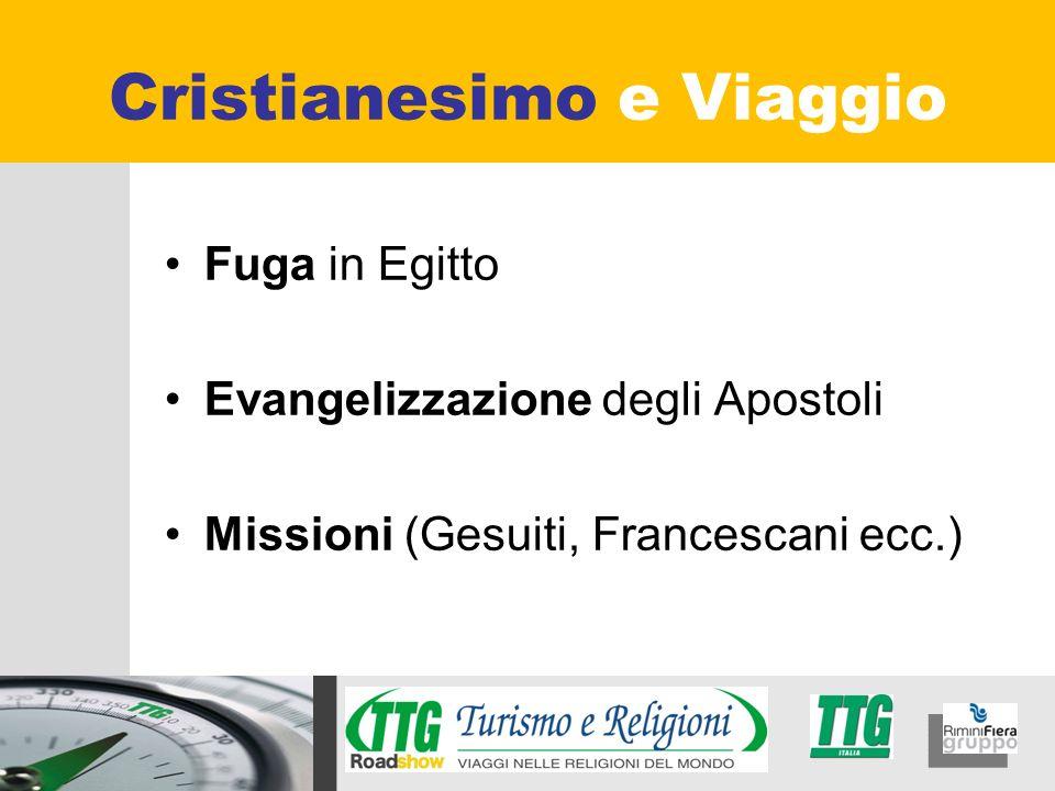 Fuga in Egitto Evangelizzazione degli Apostoli Missioni (Gesuiti, Francescani ecc.) Cristianesimo e Viaggio