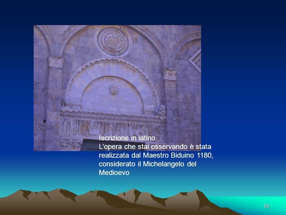 18 Pieve di San Casciano Proprio i blocchi di calcare di Uliveto( molto compatto) e di San Giuliano (più chiaro, tipo marmo) sono stati utilizzati per