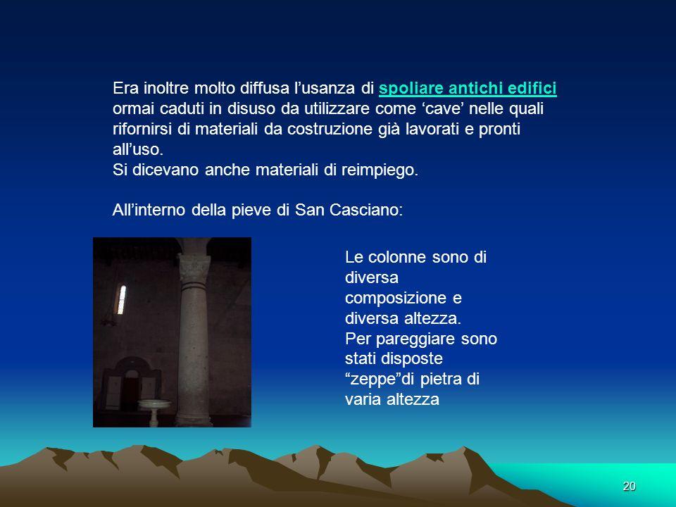 19 Iscrizione in latino Lopera che stai osservando è stata realizzata dal Maestro Biduino 1180, considerato il Michelangelo del Medioevo