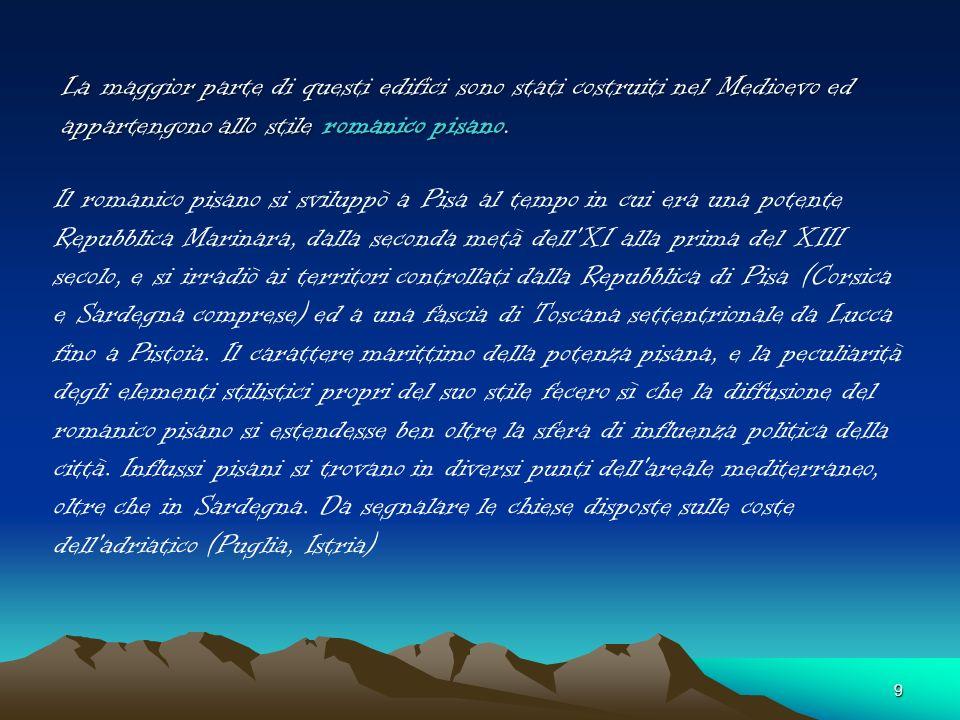 Monumenti sul territorio Chiesino di Marcianella 1111 -Chiesino di Marcianella 1111 - Pieve di S. Casciano 1180 -Pieve di S. Casciano 1180 - Chiesa di