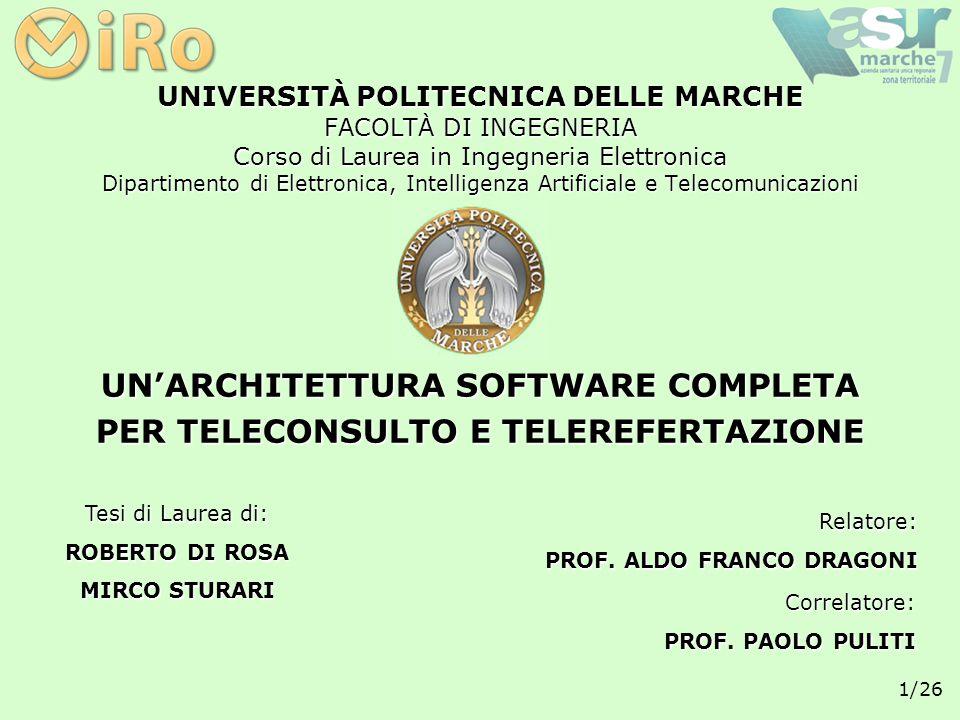 12/26 PIATTAFORMA DI SVILUPPO: Java 2 Standard Edition T ECNOLOGIE I MPIEGATE