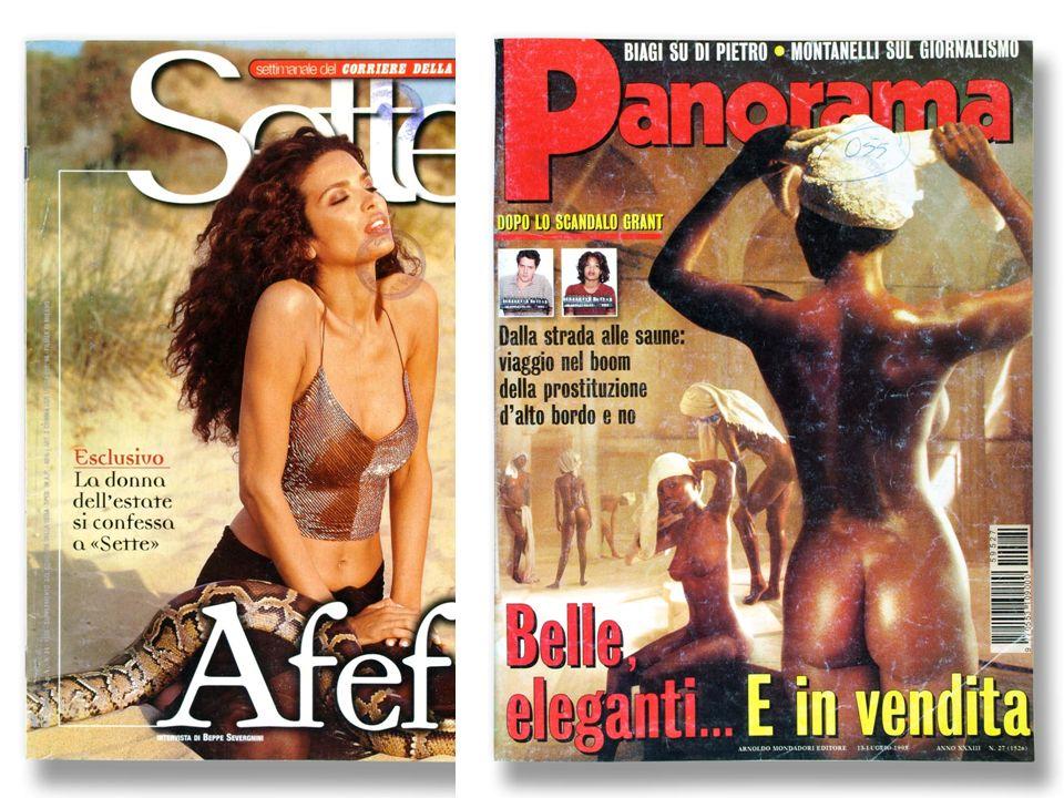 SEXY MARRONE. Un nuovo colore. Una nuova sensualità(1986) La donna africana.