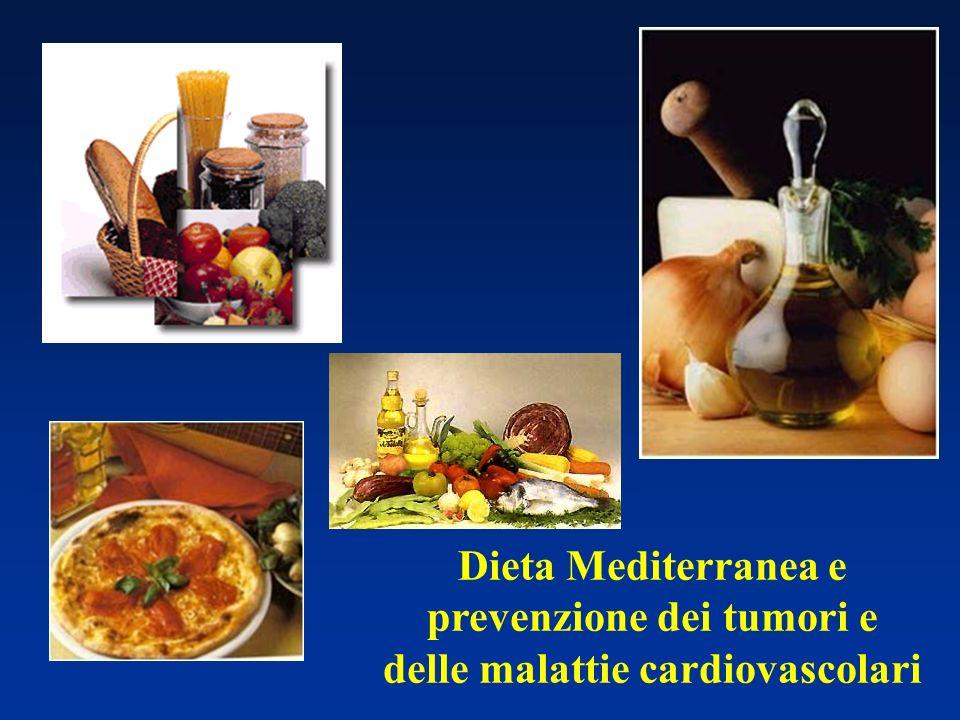 Dieta Mediterranea e prevenzione dei tumori e delle malattie cardiovascolari