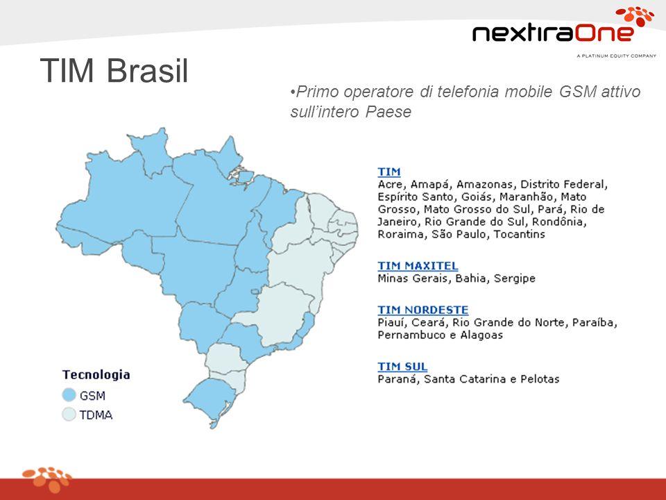 Obiettivi del progetto (1/2) Creazione di uninfrastruttura di rete a supporto dellIT aziendale, articolata su tutte le sedi di TIM Brasil, in grado di supportare: v Sviluppo di applicazioni aziendali di tipo business (pre-pagato, provisioning, fatturazione etc) v Sviluppo di applicazioni aziendali di tipo corporativo (SAP, Intranet, etc) v Processo di vendita TIM Brasil (dealer, negozi) v Sistema di 5 Contact Center in voce e dati (distribuito nelle diverse aree geografiche del Paese) v Sistema di Data Center centralizzato (aperto alla Business Continuity per tutti gli operatori regionali di TIM Brasil)