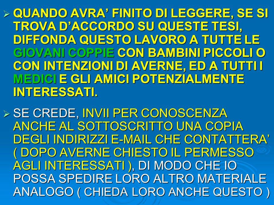 CENTRO di MEDICINA BIOLOGICA SALUS PER AQUAM Le AcquaCoccole Tutte le Magie dellAcqua, in … Coccole www.