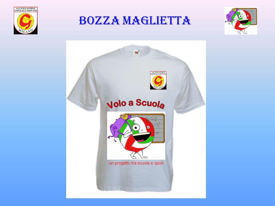 Bozza maglietta un progetto tra scuola e sport