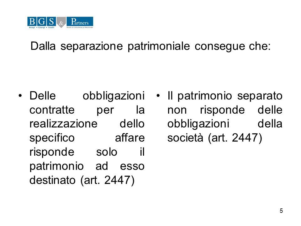 26 La deliberazione costitutiva del patrimonio destinato deve contenere una serie di informazioni dettagliate (art.