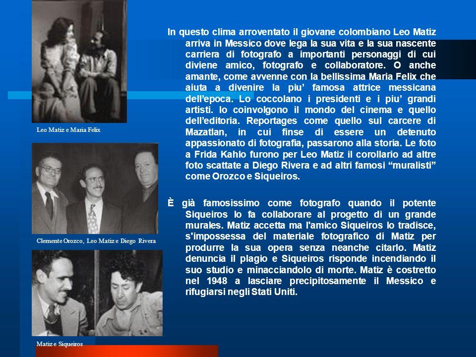 Info & Contacts FUNDACION LEO MATIZ www.leomatiz.com Calle 59 3a-51 Bogotá, Colombia Telefonos: 57+1+345-9334 /57+1+249-3643www.leomatiz.com FAX: 57+1+249-3643 Viale Abruzzi 4/e Peschiera Borromeo 20068 Milano 39-02-70300138 E.mail: alejandramatiz@hotmail.com E.
