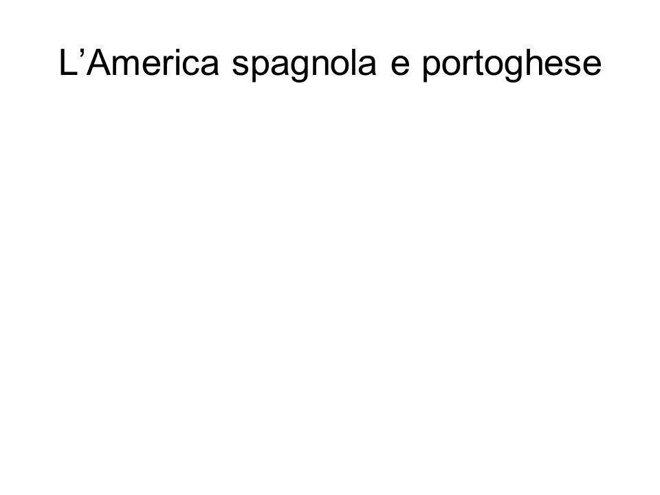 LAmerica spagnola e portoghese