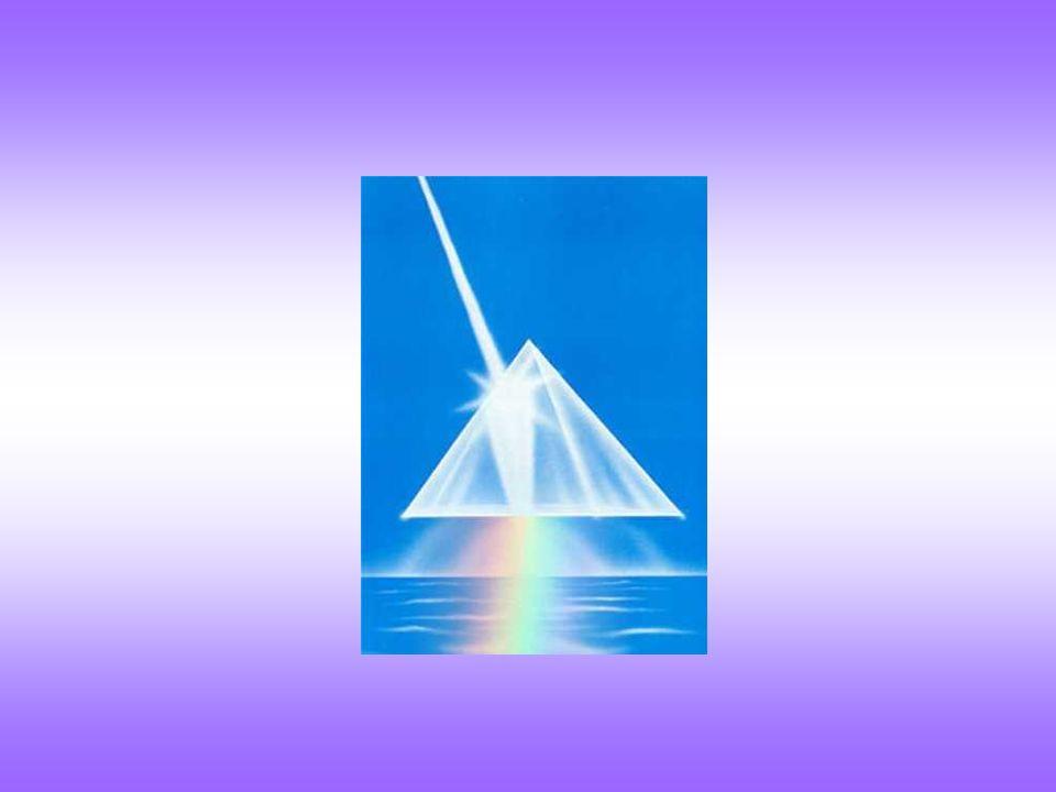 Questo fenomeno può essere semplicemente ottenuto inviando attraverso un prisma di vetro un sottile pennello di luce bianca, proveniente per esempio d