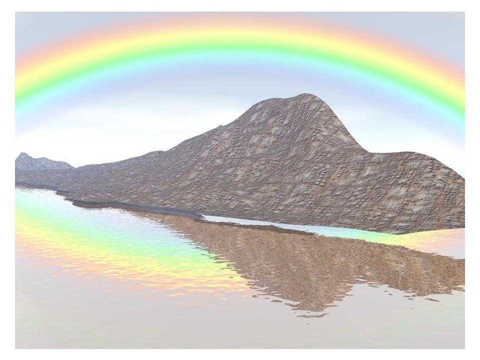 L'arcobaleno è un fenomeno ottico e meteorologico che produce uno spettro (quasi) continuo di luce nel cielo quando il Sole si riflette sulle gocce ri
