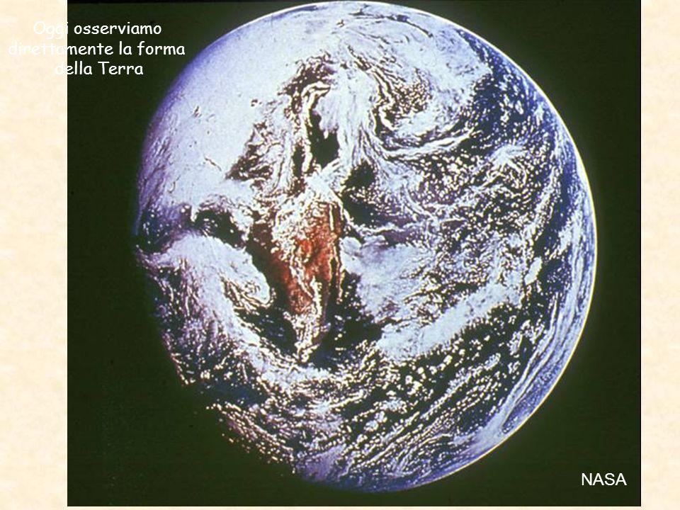 Oggi osserviamo direttamente la forma della Terra NASA