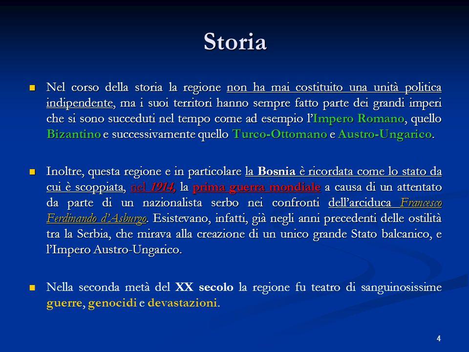 5 La Slovenia e la Croazia avevano per lungo tempo subìto la dominazione austro- ungarica e con essa facevano parte della cultura occidentale cristiano-cattolica, quindi usavano l alfabeto latino.