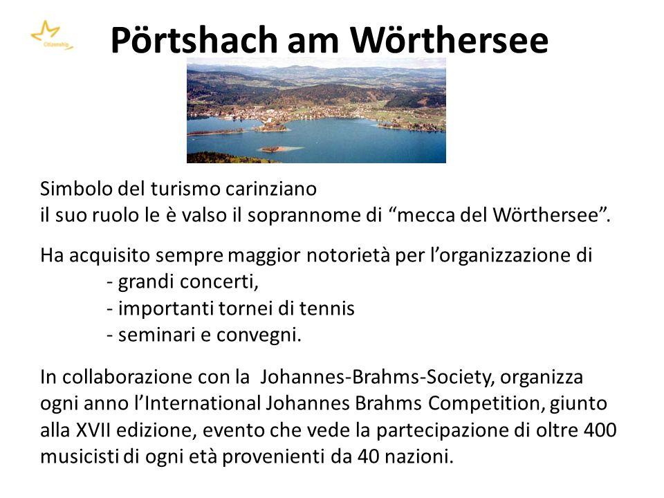 Giovedì 12 agosto 2010 h 9.30 Tavolo di lavoro tra gli operatori: esperienza dellaccoglienza turistica e dellincoming a Pörtschach.