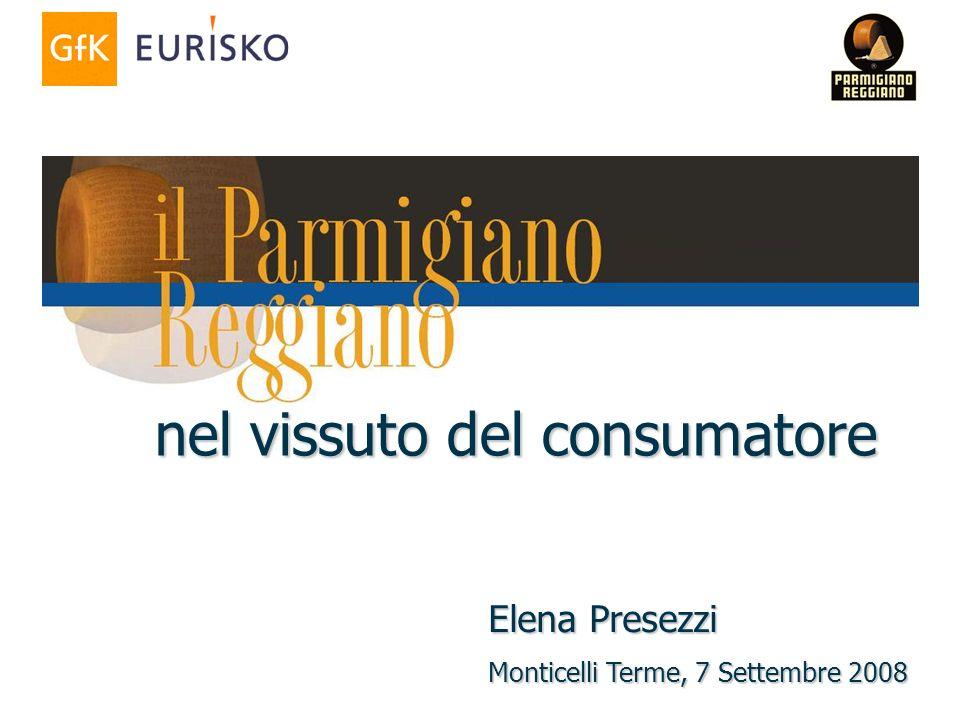 nel vissuto del consumatore Elena Presezzi Monticelli Terme, 7 Settembre 2008